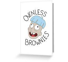 Doofus Rick Greeting Card