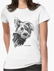 Lazy Ear Womens Fitted T-Shirt