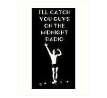 Midnight Radio Art Print