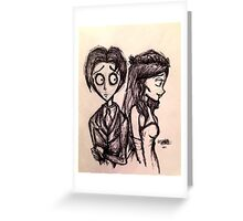 Victor & Emily Greeting Card