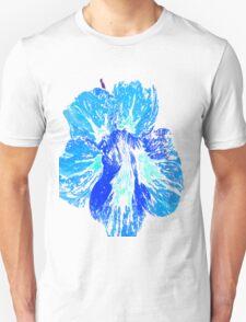 Blue flower tshirt Unisex T-Shirt