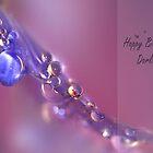 Violet rain drops by cards4U