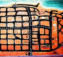 Karte von Swakopmund - Map of Swakopmund by AlexLSander