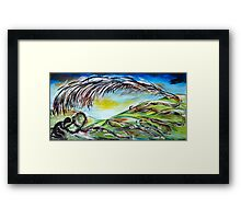 For the Dust of your Feet Framed Print