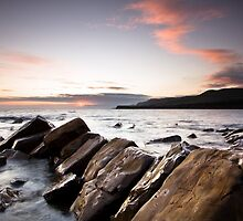 kimmeridge Sunset by igotmeacanon