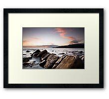 kimmeridge Sunset Framed Print