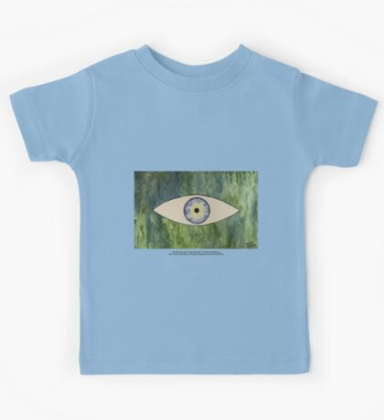 Sea Monster Eye   (t-shirt) Kids Clothes