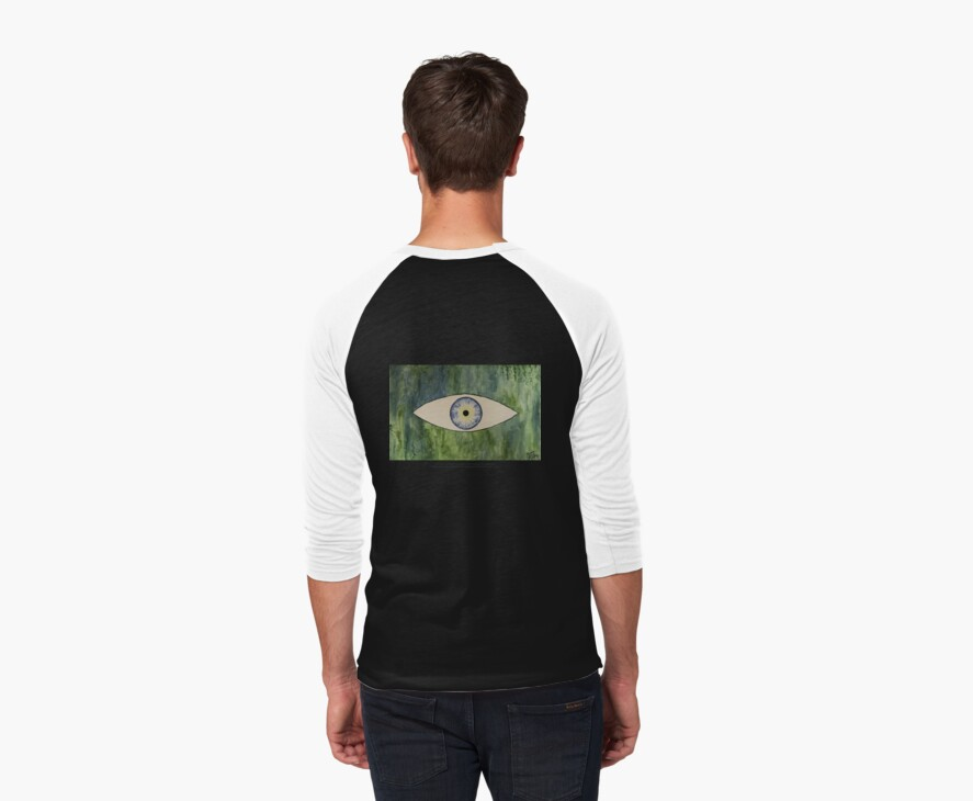 Sea Monster Eye   (t-shirt) by Thomas Murphy