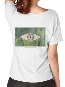 Sea Monster Eye   (t-shirt) Women's Relaxed Fit T-Shirt