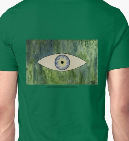 Sea Monster Eye   (t-shirt) Unisex T-Shirt