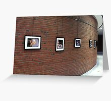Moakley Exhibit Space 2 Greeting Card