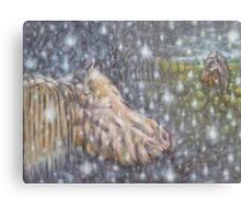 WINTER DREAM ABOUT HAPPINES. 2014 Metal Print