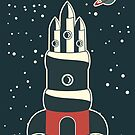 retro cpace card by Anastasiia Kucherenko