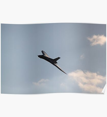 XH558 To old for stealth Poster