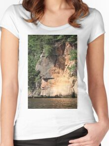 The Great Thinker Women's Fitted Scoop T-Shirt