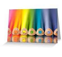 Crayonbow Greeting Card