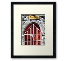 Galway Gate Framed Print