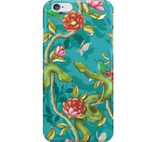 Morning Song - turquoise iPhone Case/Skin