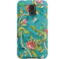 Morning Song - turquoise Samsung Galaxy Case/Skin