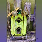 Rustic &quot;Private&quot; Birdhouse. by Sandra Foster