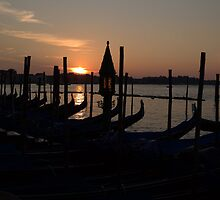 Grand Canal Sunrise by Alfredo Estrella