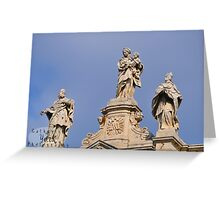 Rome Statues 1 Greeting Card