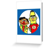 Leonard and Sheldon Muppets Greeting Card