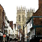 YORK MINSTER SPIRES by gothgirl