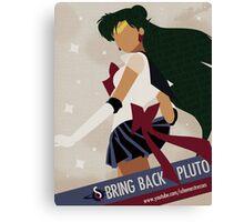 Bring Back Pluto Canvas Print
