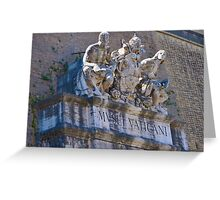 Architecture on the Vatican - Rome, Italy Greeting Card