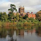 Hereford on Wye by RedHillDigital