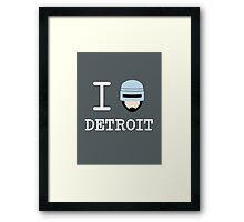 I Protect Detroit Framed Print