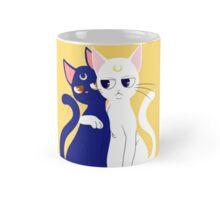 Grumpy Sailor Cats Mug
