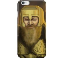 Dwarven Warrior iPhone Case/Skin
