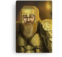 Dwarven Warrior Canvas Print