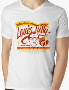 Louis Tully Accounting Mens V-Neck T-Shirt