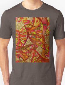 Tshirt - Abstract Tangerine T-Shirt