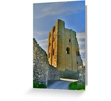 Yorkshire: Scarborough Castle Greeting Card