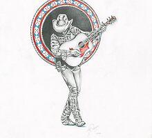 HONKY TONK MAN (DWIGHT YOAKAM) by Marty  Parker