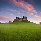 Duffus Castle Dusk by Christopher Thomson