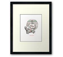 SATCHEL PAIGE Framed Print