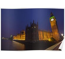 Houses of Parliament, London, UK Poster