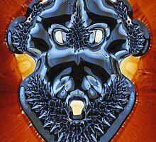 Ferrofluid mask by MikeMcHaney