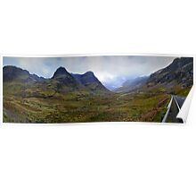 The Scottish Highlands No.4 - The Panoramic Poster