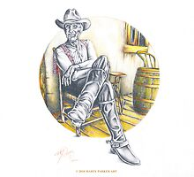 CAPT. AUGUSTUS McCREA (Robert Duvall in Lonesome Dove) by Marty  Parker