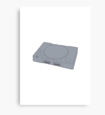 Sony Playstation 1 Canvas Print