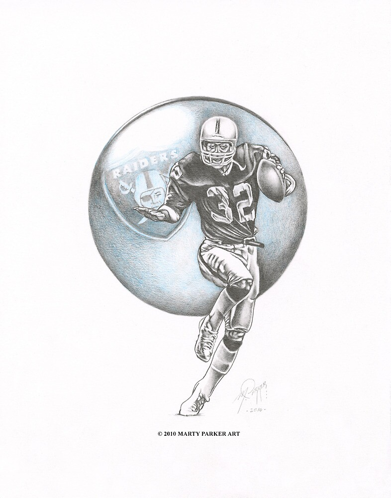 MARCUS ALLEN by Marty  Parker