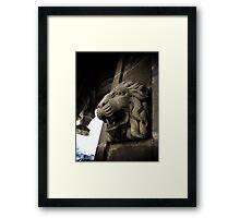 Old Central Park Fountain 01 Framed Print