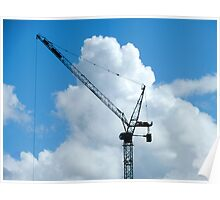 Cumulonimbus Crane Poster