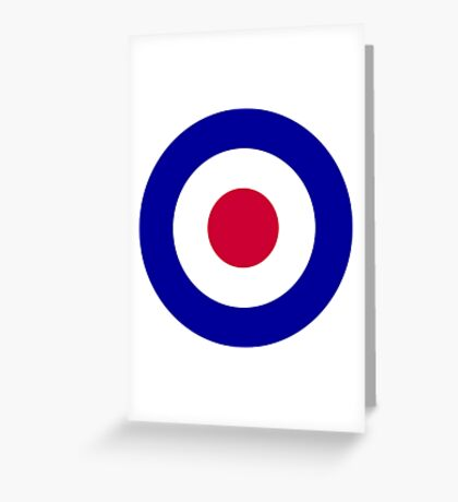 Roundel of the Royal Air Force Greeting Card